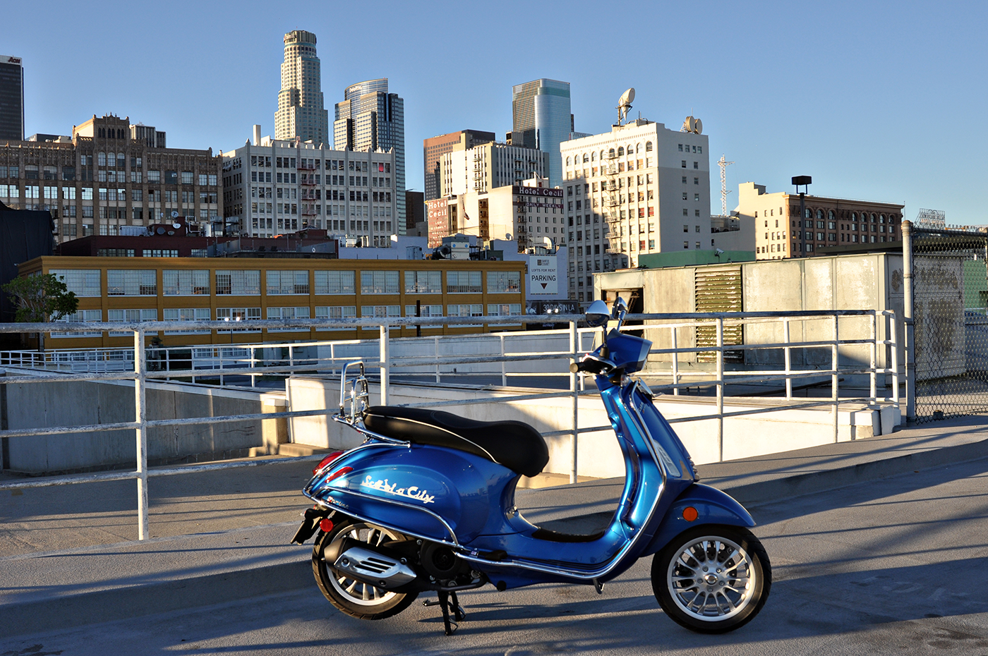 Vespa Sprint 150 Blue