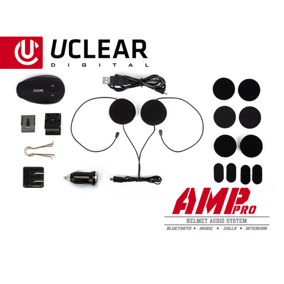 UCLEAR Communication System - Only Available with Upgraded Helmet