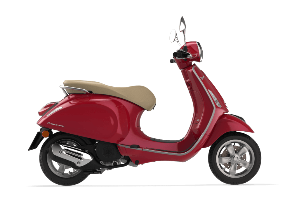 Vespa Primavera 150 Red