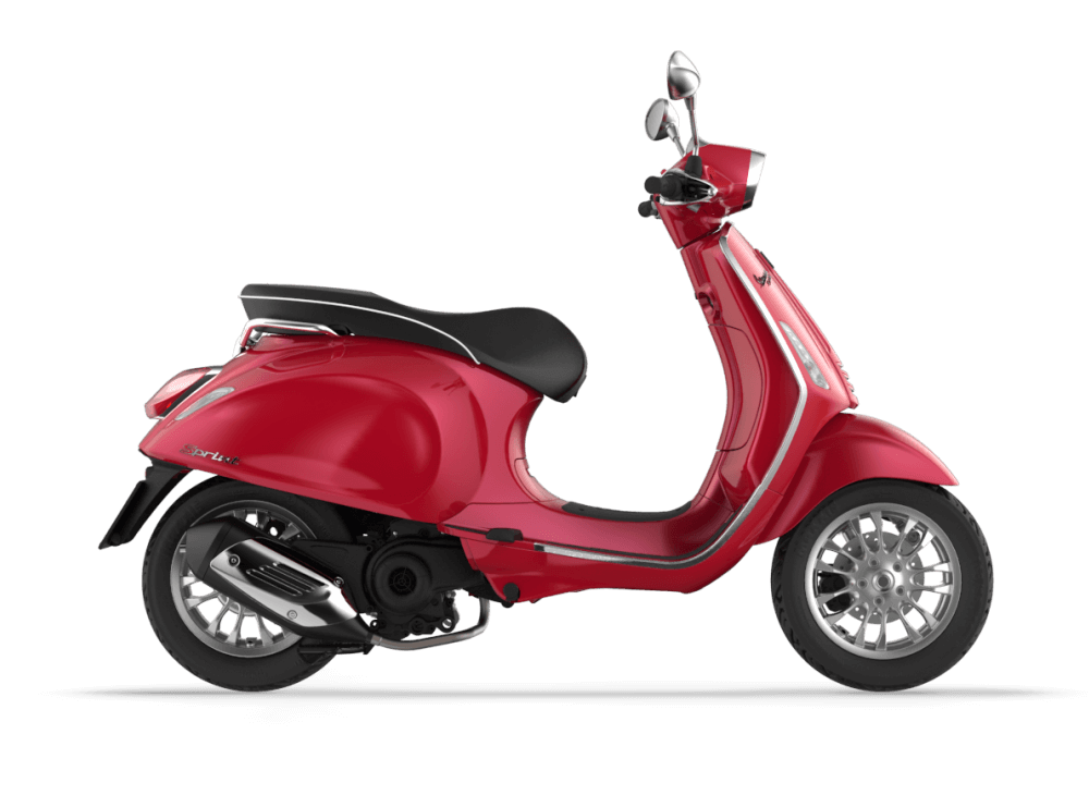 Vespa 50 Sprint Red