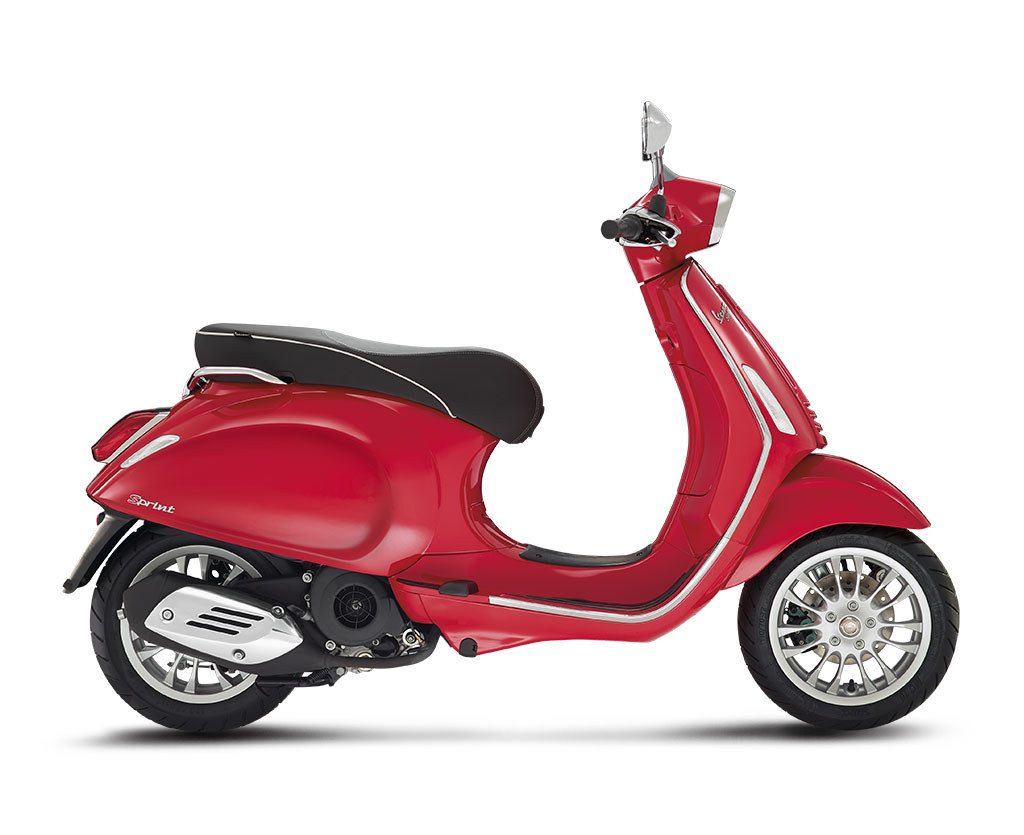 Vespa Sprint 150 Red