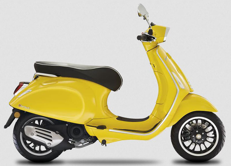 Vespa Sprint 50 Limited Speed Yellow