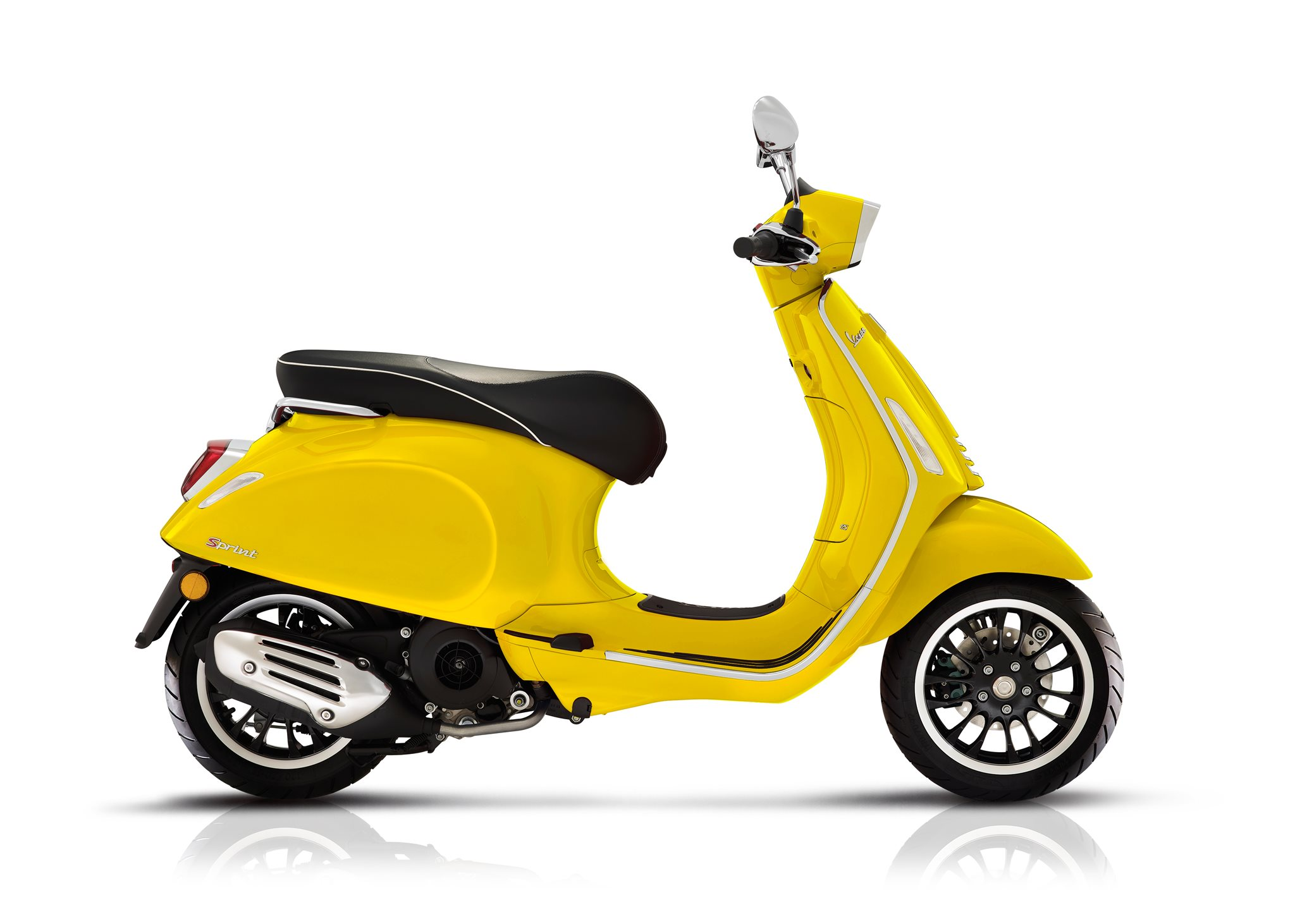 Vespa Sprint 50 LS Yellow